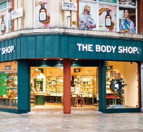 About the Body Shop International